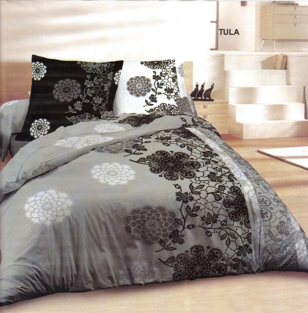 parure draps housse de couette taupe avec housse de couette soldes housse de couette percale de. Black Bedroom Furniture Sets. Home Design Ideas